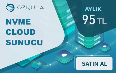 ozkula server sunucu cloud nvme