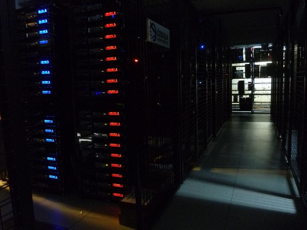 ozkula sistem odasi resimleri veri merkezi data center datacenter
